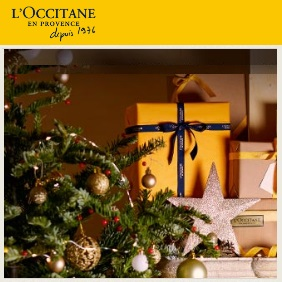 Подарки в L'Occitane